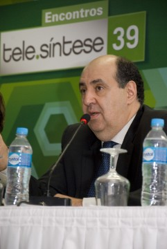 João Rezende, presidente da Anatel no 39 Encontro Tele.Síntese (foto: Felipe Canova)