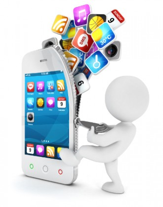 shutterstock_3Dmask_internet_telefonia_movel_device_celular_rede_social