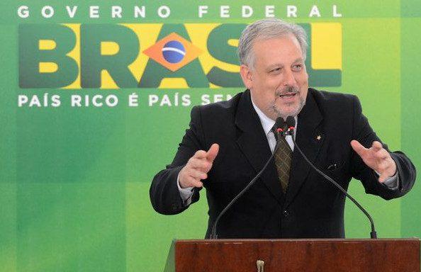 Ricardo Berzoini, ministro das Comunicações (Foto: Wilson Dias/Agência Brasil)