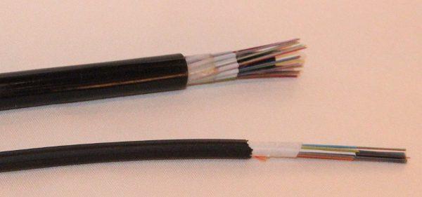 cabo e microcabo óptico