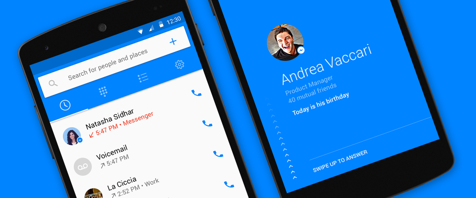 Facebook inicia testes com identificador de chamadas próprio