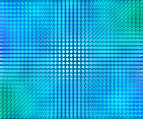 Blue LED Dots Abstract