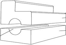 meio fio modular rnp