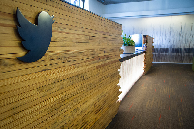 Twitter HQ_ Reception desk