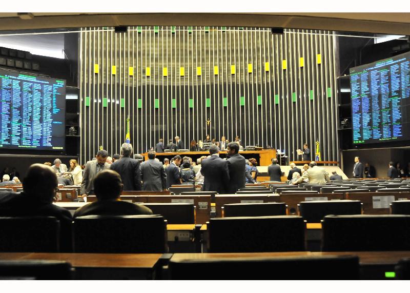 Plenário da Câmara dos Deputados (Foto: José Cruz / Agência Brasil)