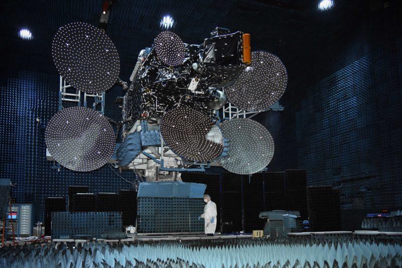 Satélite da Embratel lançado em 21 de 12 de 16